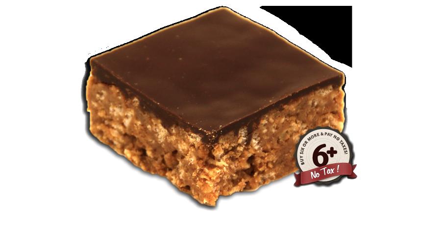 Vegan Peanut Butter  Square