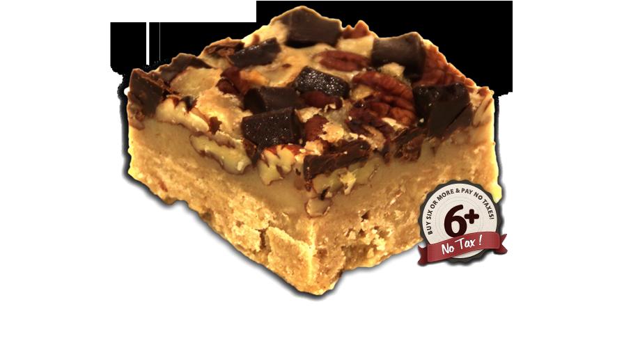 Chocolate Pecan  Square