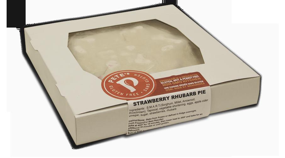 GF Strawberry Rhubarb Pie (Frozen)